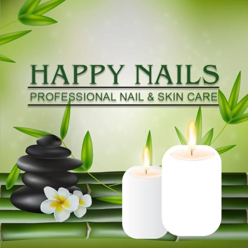Happy Nails Logo